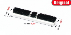 WEB kefe, Brush bars 158mm*22mm*21mm