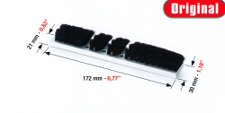 WEB kefe, Brush bars 172mm*30mm*21mm