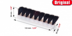 WEB kefe, Brush bars 133mm*20mm*38mm