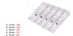 0,1mm 1 készlet/csomag ívleválasztó, 1 sets packet Sheet separator