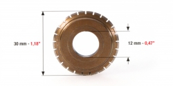 24 fogú perforáló görgő csapágy nélkül, Standard perforating wheel 24 teeth without bearing