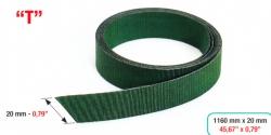 Berakó szíj hajtogatóhoz, Feeder belt folding maschine