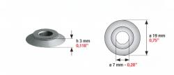 Speciális szívógumi, 10 ultra, 3mm*19mm*7mm
