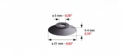 Speciális szívógumi, 74 ultra, 4mm*21mm*5mm