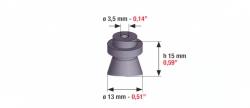 Speciális szívógumi, 121 ultra, 15mm*13mm*3,5mm