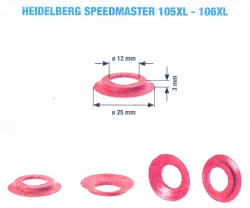 Speciális szívógumi, 139 ultra, 3mm*25mm*12mm